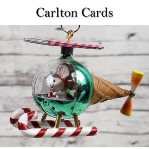 Carlton Cards Off For A Spin Ornament